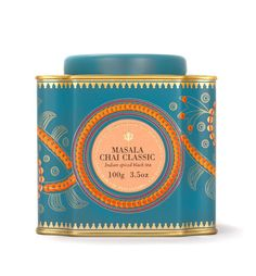 Masala Chai Classic- Black tea blended with high-grade green cardamom, whole cloves, cinnamon, and ginger