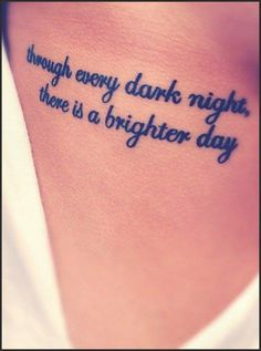 Meaningful and Inspiring Tattoo Quotes For You | Tattoo Quotes ...