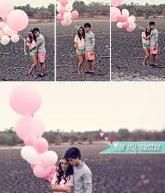gotta ♥ mint + pink engagement inspiration!!! {Jennifer Sullivan Photography}