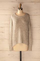 Köflach Sand - Long sleeved sweater