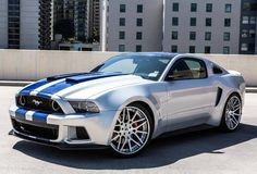 Oh Yea! Mustang Gets Lead Role In New Need For Speed Movie (VIDEO)