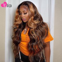Sew In Hairstyles, Black Girl Braided Hairstyles, Baddie Hairstyles, Birthday Hairstyles, Ponytail Hairstyles, Lace Front Wigs, Lace Wigs, Honey Blonde Highlights, Natural Hair Styles
