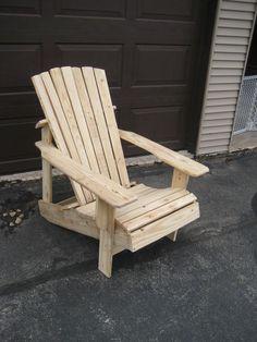 Pallet Adirondack Chair style