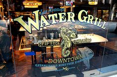 Water Grill:  Downtown