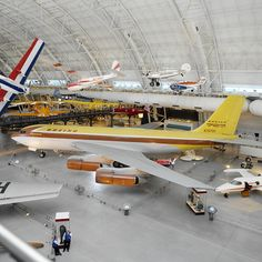 July 15, 1954: The Boeing 367-80, also known as the Dash 80, made its first flight. The Dash 80 was the prototype for the 707, America's first jet airliner.  See it on display at the Udvar-Hazy Center in Chantilly, VA.