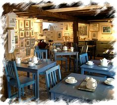 Crail Harbour Gallery and Tearoom, was created in the cellars of St Adrians, a classic pan-tiled 17th century building. Formerly used as storage space, original features have been revealed, such as the flagstone floor, the exposed stone walls, and an old, small window in the wall facing the sea.