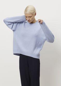 Acne Studios Shora Wool Sweater (Sky Blue)