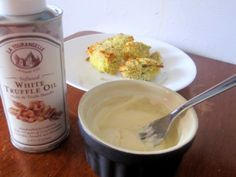 The Simple Treat | Baked artichoke hearts with white truffle aioli