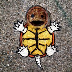 Уличный художник превращает обычные предметы в яркие арт-объекты « FotoRelax
