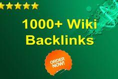 skyROCKET your website with 1000+ wiki backlinks for $5