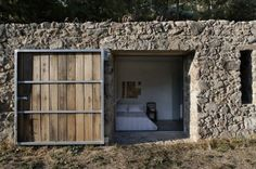 A home built out of a former cow stable in Spain    Leslie @ Robert J Fischer Team  robertjfischer.com