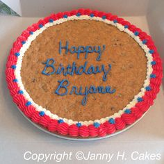 Cookie cake www.facebook.com/jannyh.cakes