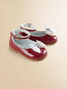Burberry Infant's Ballerina Bow Flats