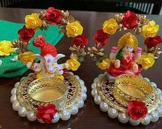 Set of 7 beautiful tealight candles, colorful handcrafted Christmas tealights, holidays candle, Christmas favors , painted candles favors Thali Decoration Ideas, Diwali Decorations, Indian Wedding Decorations, Festival Decorations, Light Decorations, Diwali Candles, Henna Candles, Holiday Candles, Diy Crafts Hacks