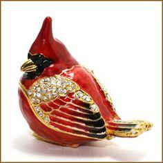 Red Cardinal Box