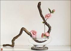 Ikebana is the Japanese art of flower arrangement. Ikebana is a more disciplined form of art that brings together humanity and nature. Ikebana Arrangements, Ikebana Flower Arrangement, Flower Arrangements Simple, Japanese Flowers, Japanese Art, Japanese Floral Design, Japanese Prints, Art Floral Japonais, Arreglos Ikebana