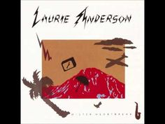 Week 7 of my blogging in English    #laurieanderson #song #music #1980s #thisisthepicture #cover #opening #blogging #tumblr #english