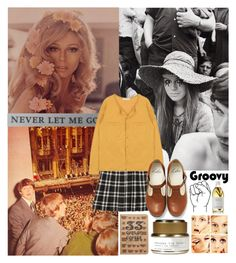 """""""1960s // VINTAGE"""" by bubblywisdom ❤ liked on Polyvore featuring 33 Books Co., Haeckels, Susanne Kaufmann and vintage"""