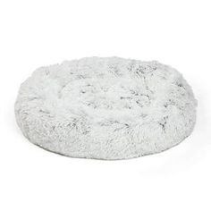 Warm Fleece Dog Bed 6 Sizes Round Pet Lounger Cushion For Small Medium Large Dogs & Cat Winter Dog Kennel New Year Puppy Mat