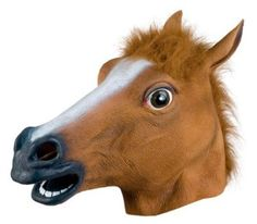 Amazon.com: Accoutrements Horse Head Mask: Toys & Games