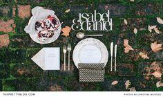 Baroque table setting