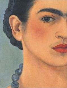 Frida self portrait.
