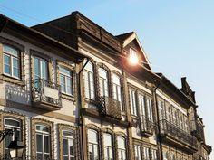 Fachadas de Edifícios em Viana do Castelo, Portugal