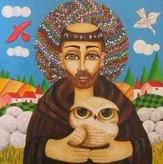 O santo protetor dos animais - São Francisco