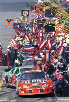 Pit Road Phoenix Raceway