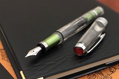 TWSBI fountain pens are loved for their high quality and affordability, offering advanced filling mechanisms normally reserved for much more expensive fountain pens.