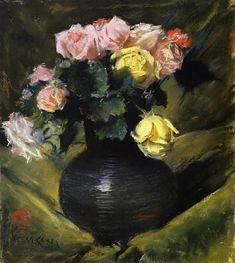 William Merritt Chase Flowers (aka Roses) 1888