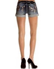Miss Me 60s Bird Shorts jeans
