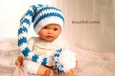 Zipfelmütze baby hat elf Babyfotographie newborn, have also a look on my etsy-shop:  https://www.etsy.com/de/your/shops/MumiSuljo?ref=si_ys_dd_shop_info  or on my website: http://beautifulcrochet.wordpress.com/