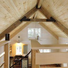 Winter Cabin - rustic - spaces - burlington - Susan Teare, Professional…