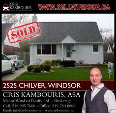 If you are ready to buy or sell a home in Windsor - Essex County contact me today to help! www.sellwindsor.ca or call: 519-995-7600