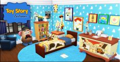 Toy Story bedroom at Victor Miguel • Sims 4 Updates