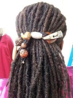 Examples of how Natural Hair Adornment can be worn  by MDIGEMS, $25.00