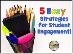Wonderful and EASY tips for increasing Student Engagement in the Classroom! Caffeine Queen Teacher Blog