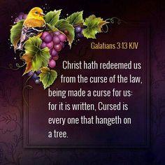 Galatians 3:13 KJV