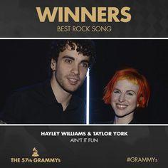 #3yearsago #Grammys #Paramore #TAYLEY