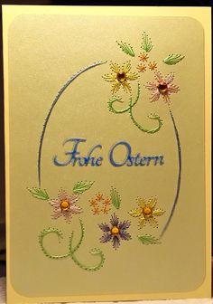 Fadengrafik+Doppelkarte+mit+Umschlag+OSTERN+04+von+Rene´s+Fadengrafiken+auf+DaWanda.com
