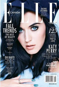 Katy Perry for Elle Canada October 2013 | Art8amby's Blog