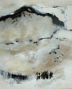 abstrakte Malerei Acryl-Mischtechnik auf Leinwand 1,00 m x 1,20 m renatemigas.de artoffer.de