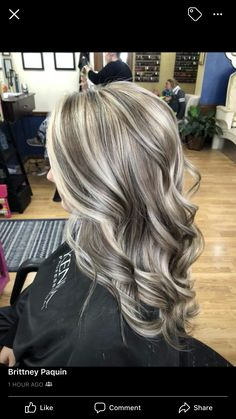 trendy hair color blonde with lowlights highlights roots Blonde hair models – Hair Models-Hair Styles Ash Blonde Hair, Blonde Color, Ombre Hair, Balayage Hair, Grey Blonde, Haircolor, Blonde Hair Lowlights, Silver Blonde, Gray Hair Highlights