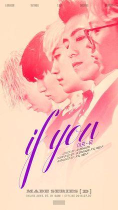 Big Bang to calm things down with next track 'If You'? big-bang if-you Daesung, Vip Bigbang, Bigbang Live, Choi Seung Hyun, 2ne1, Got7, Yg Life, Big Bang Kpop, Bang Bang