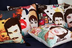 Popart- Turkısh film artsits- decorative pillows