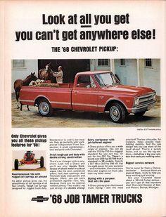 1968 Chevrolet CST Fleetside Pickup Truck Advertisement Life Magazine October 13 1967 | Flickr - Photo Sharing!