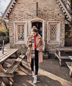 Found my very own Gingerbread house in the woods - and it SERVES COFFEE YOU GUYS  ps - this teddy bear coat is the thing of dreams and I've been living in it - still a few sizes available on @asos