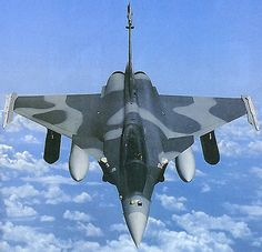The Rafale is powered by two M88-2 engines from SNECMA, each providing a thrust of 75 kN. - Image - Airforce Technology