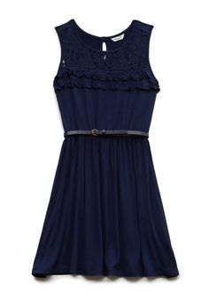 Lovely Lace Ruffled Dress (Kids) | FOREVER21 #F21Girls #Juniors #Lace